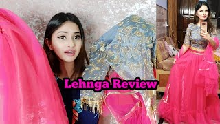 I Bought Lehnga From Amazon || Review + Try On