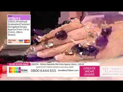How To Make Wire Work Jewellery - JewelleryMaker LIVE (am) 06/02/2015