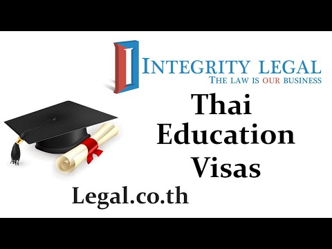 Getting Thai Education Visas And Returning From Abroad