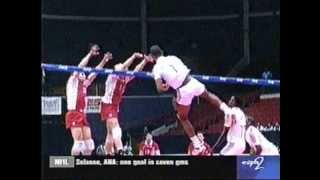 Leonel Marshall 50 inch vertical jump - Cuba Volleyball