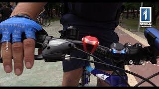 Улицы Кривого Рога патрулируют полицейские на велосипедах