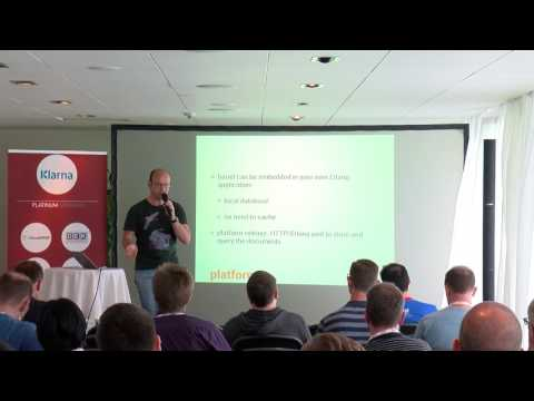 Building A Database From Scratch - Benoit Chesneau - EUC17