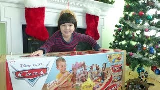 Awesome Christmas Present - Radiator Springs Race Track Set & Train Table (wooden Disney Cars)