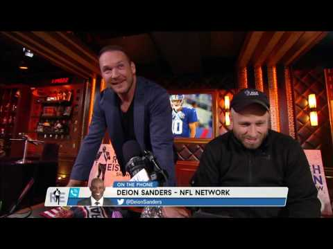 Brian Urlacher & Deion Sanders Argue Over a Ping Pong Match They Had a While Back - 11/22/16