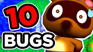 10 BUGS SUR ANIMAL CROSSING
