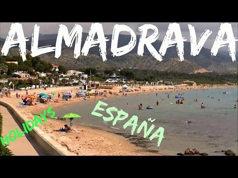 Holidays ; Costa Dorada ; Playa Almadrava ; Plage ; Vacance ; Catalogne ; Espagne