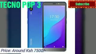 BEST TECNO SMARTPHONES IN KENYA IN 2020
