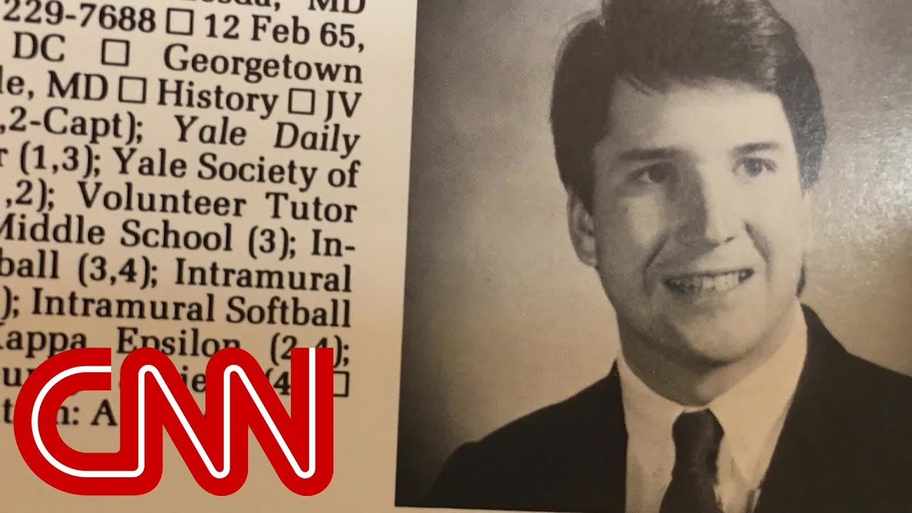 A look at Brett Kavanaugh's Yale years
