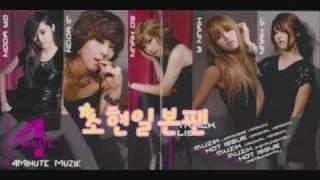 4minute- Muzik (Japanese Ver.)