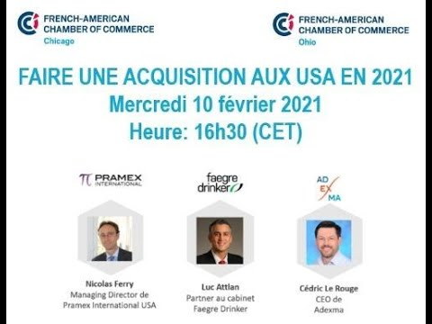 Acquisitions aux USA en 2021