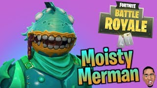NEW MOISTRY MERMAN SKIN! Fortnite Live Stream