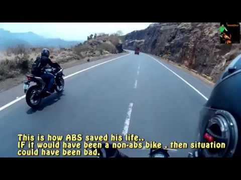 This is how ABS - anti-lock braking system save life.