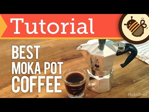 How to Make Moka Pot Coffee & Espresso - The BEST Way (Tutorial)