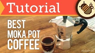 How to Make Moka Pot Coffee & Espresso - The BEST Way (Tutorial)