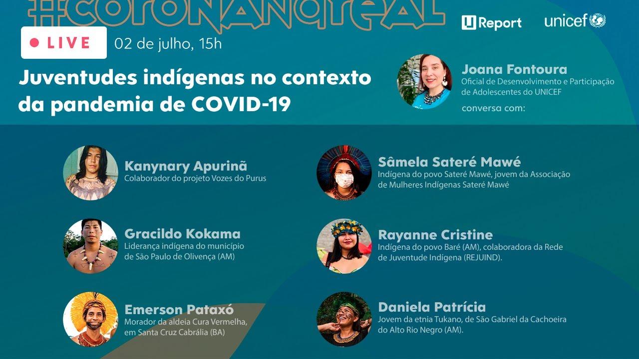 Live Juventudes Indígenas no contexto da pandemia de Covid-19