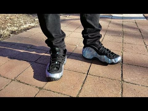 wholesale dealer dae9f 0e138 NIKE AIR FOAMPOSITE ONE AURORA GREEN ABALONE REVIEW + ON FOOT
