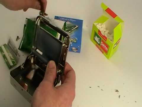 how to use adjust a roll cigarette rolling machine