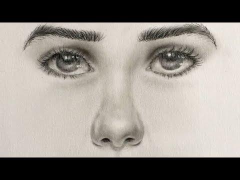 Como Dibujar Una Nariz Realista En 2 Minutos Técnica Fácil Youtube