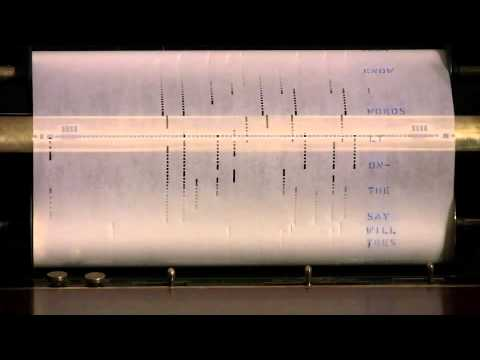 Beatles Hits on piano roll