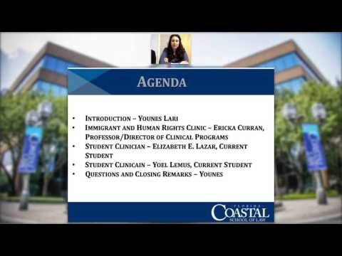 Coastal Law Spotlight: Immigrant and Human Rights Clinic