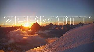 Breithorn [4K] sunrise to sunset  Zermatt
