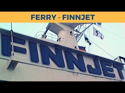 Classic Ferry Video 1998 - Passage ferry FINNJET, Travemünde-Rostock-Muuga-Helsinki (Silja Line)