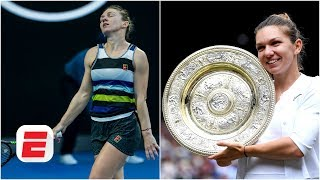 How Simona Halep went from 'mental wreck' to Wimbledon champion | 2019 Wimbledon