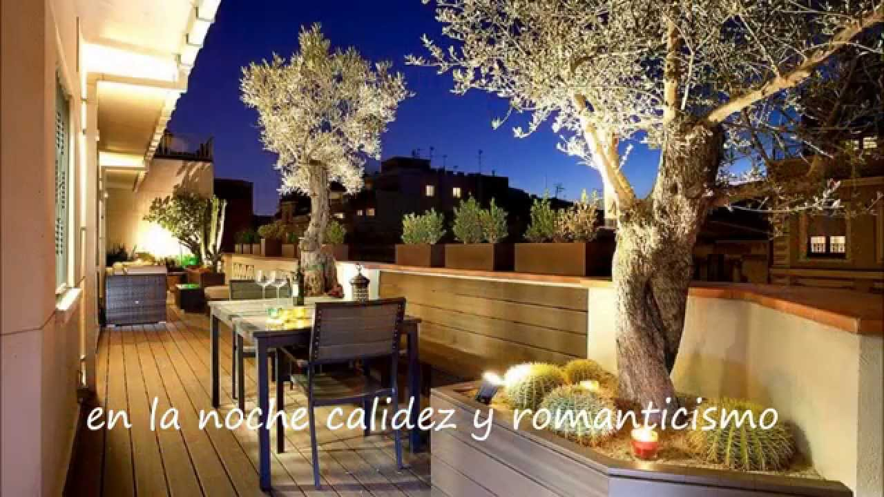 Como reformar y decorar una terraza peque a youtube for Ideas para decorar una terraza exterior