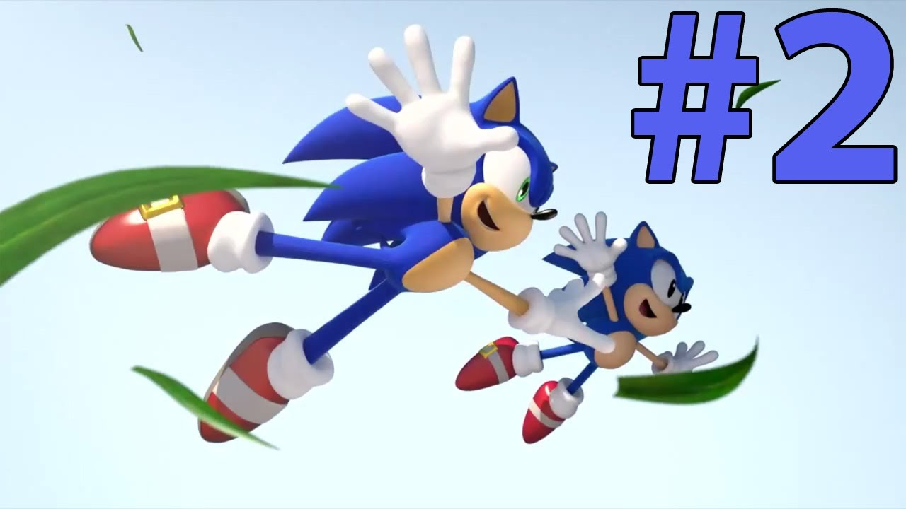 Let's Play Sonic Generations - Episode 2 - YouTube  |Sonic Generations 2 Player Mode