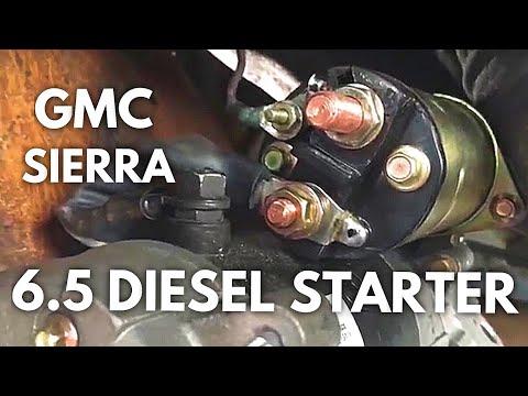 6 5l turbo diesel starter k1500,k2500,k3500,c1500, c2500, c3500  6 5l turbo diesel starter k1500