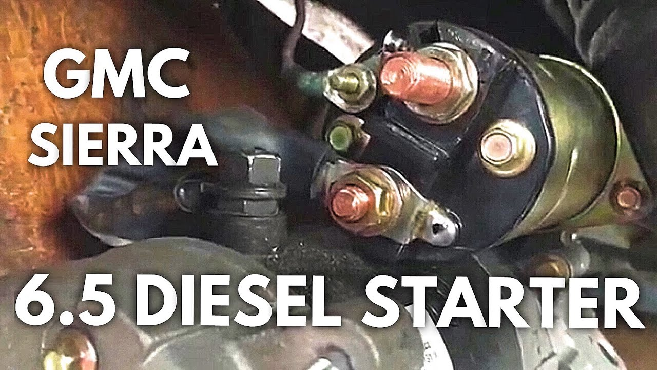 6 5l turbo diesel starter k1500 k2500 k3500 c1500 c2500 c3500 rh youtube com 1994 Chevy Starter Wiring Diagram 78 Chevy Starter Wiring Diagram
