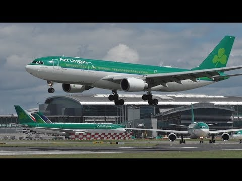 Summer Plane Spotting at Dublin Airport | 777 A350 A330s 767s & More