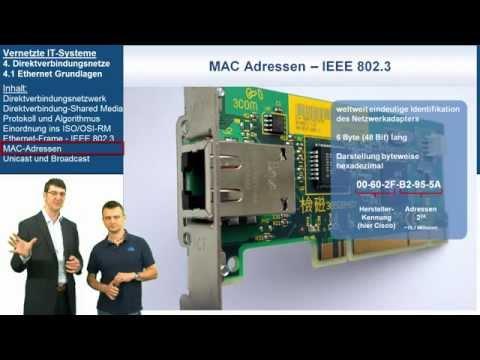 VIT 4.1: Ethernet Grundlagen | Vernetzte IT-Systeme