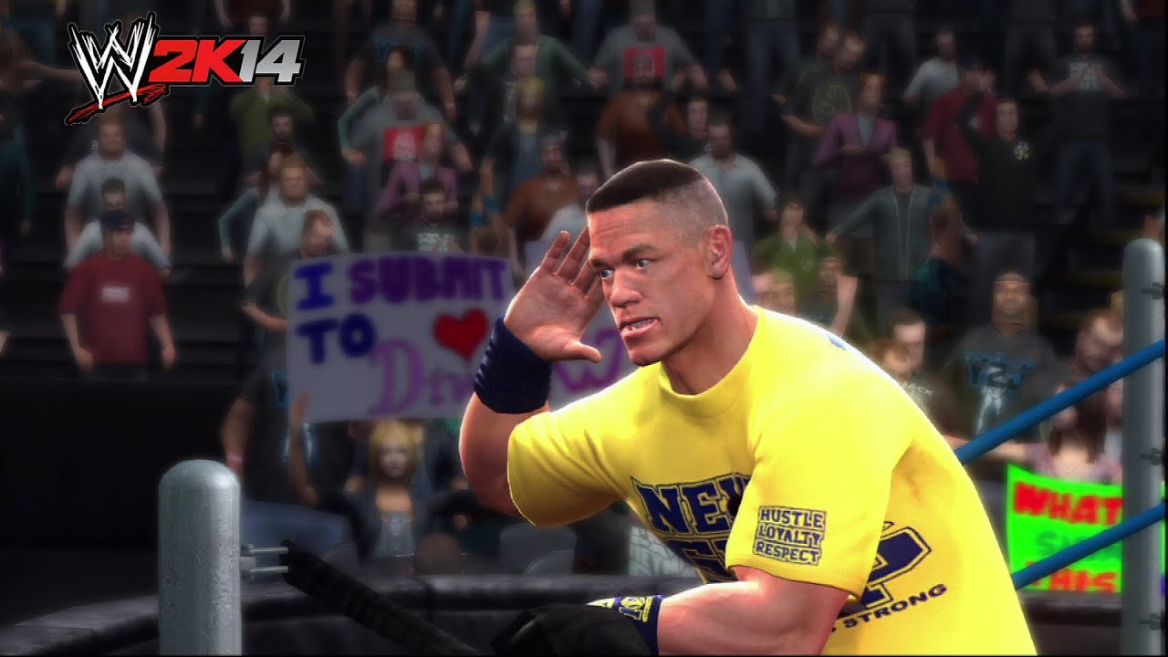 "john cena enters as hulk hogan - ""wwe 2k14"" mashup! - youtube"