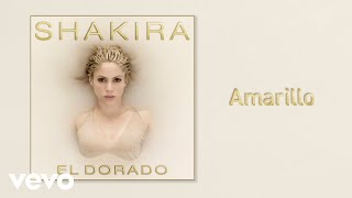 shakira   amarillo  official audio