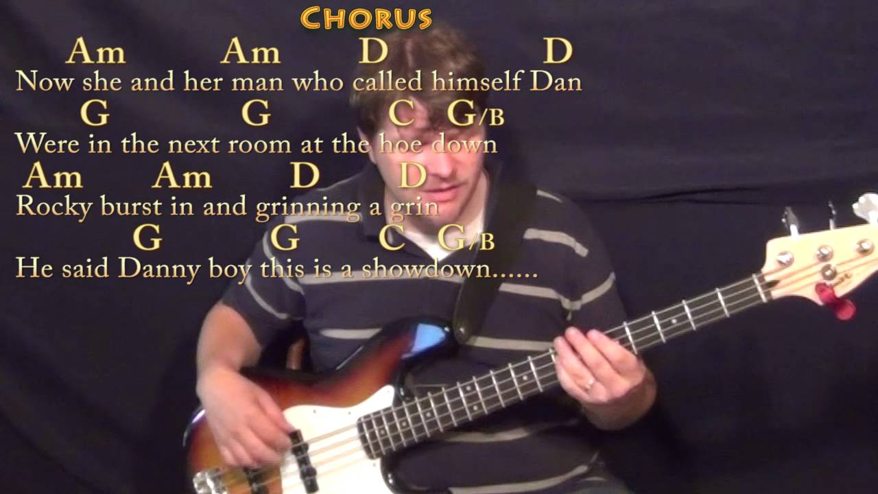 Rocky Raccoon The Beatles Bass Guitar Cover Lesson With Chords