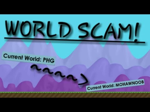 Growtopia | New WORLD NAME SCAM ! (Dangerous)