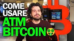 INVESTIRE IN BITCOIN in CONTANTI usando un ATM Criptovalute in Italia 🤑