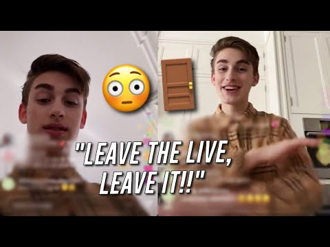 Johnny Orlando Wanted EVERYONE To LEAVE His LIVE!!😫😳