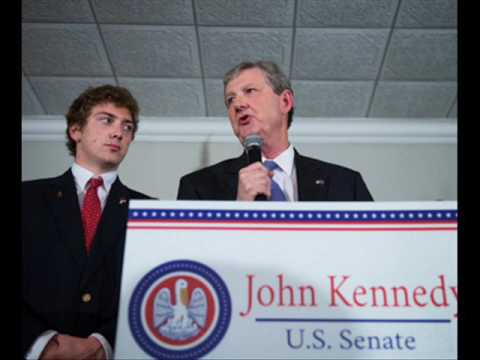 John Kennedy Talks First Day In Office, Senate Agenda