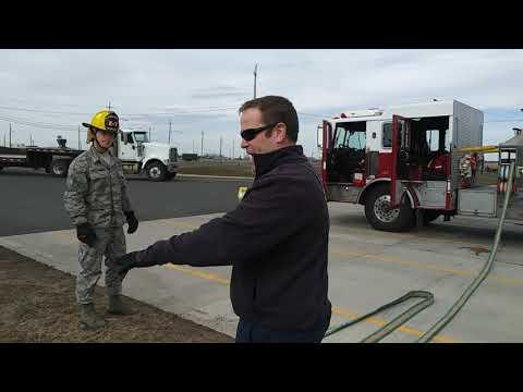 """Fairchild AFB handline deployement """"Flying V"""""""