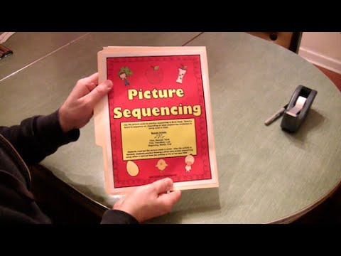 Picture Sequencing Activity (Preschool, Kindergarten, and First Grade Reading Lesson)