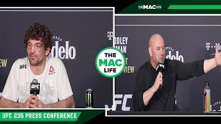 Ben Askren and Dana White Kinda Disagree on Their Relationship