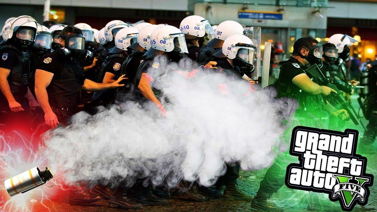 İTİNAYLA BİBER GAZI FIRLATILIR GENÇLER! - GTA 5 ÇEVİK KUVVET MODU