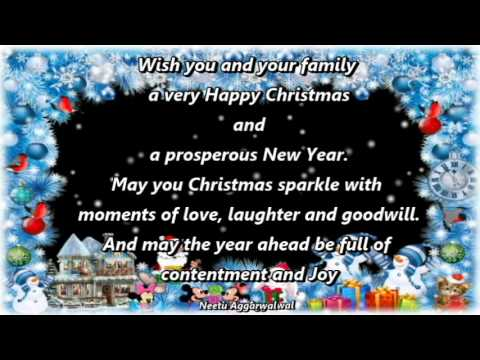 merry christmas happy new year wishesgreetingse cardquotessayingsmswhatsapp video