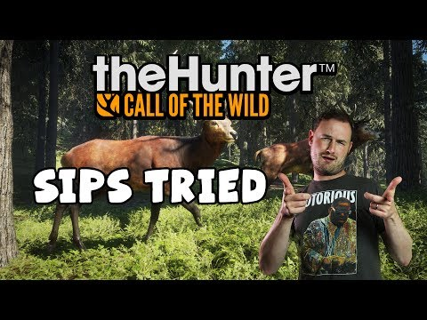 Sips Tried theHunter: Call Of The Wild (24/4/2017) - A Vegetarian Hunter