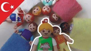 Playmobil Türkçe Doğum Merkezine Ziyaret  Hauser Ailesi - Çocuk filmi