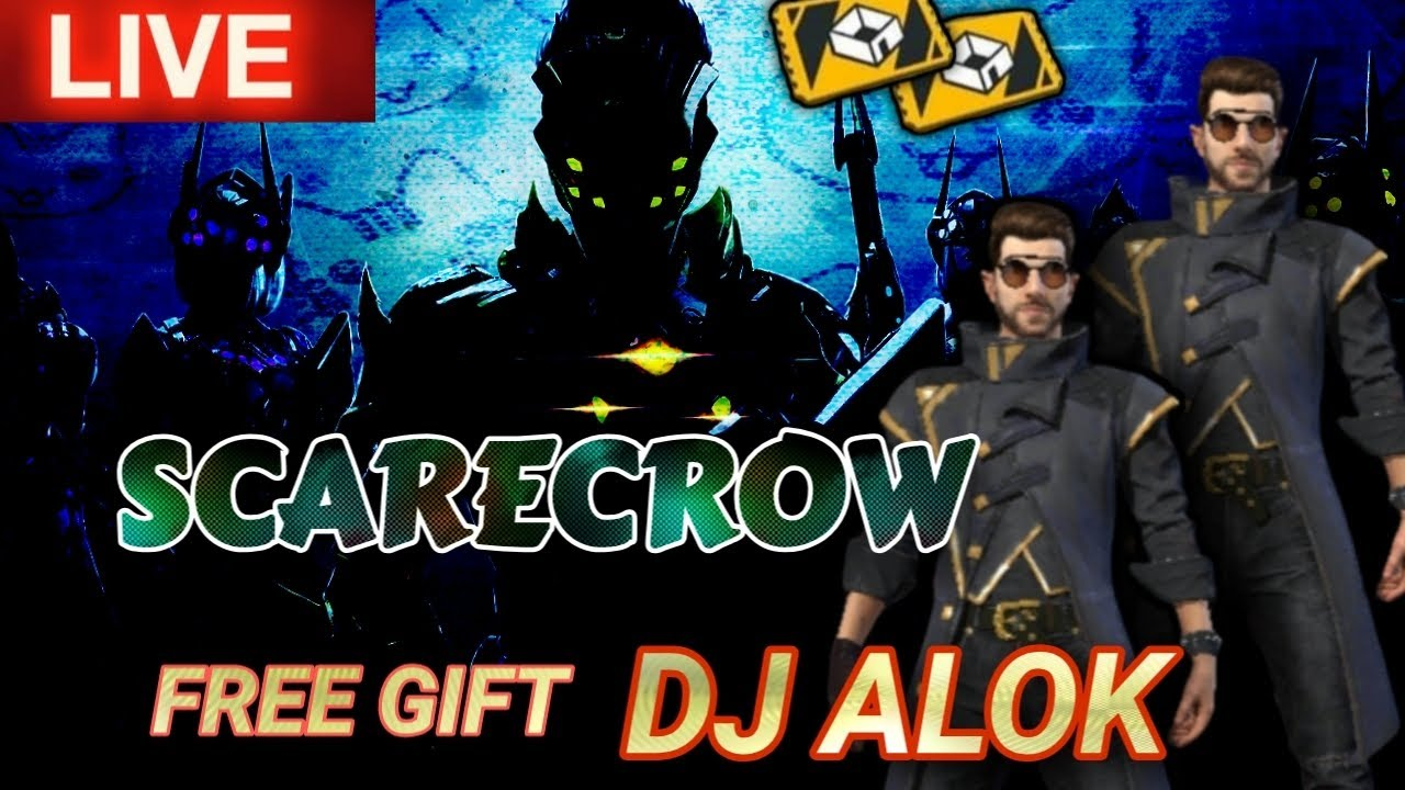 🛑FREE FIRE LIVE - SCARECROW - SUMMON AIRDROP FACTORY