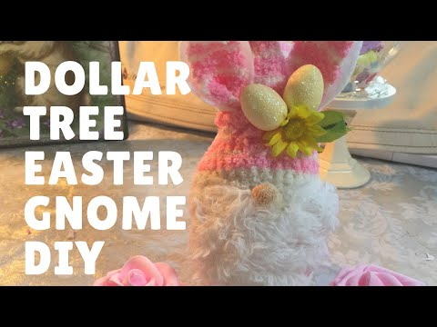 How To Make A Easter Gnome Out Of Dollar Tree Items