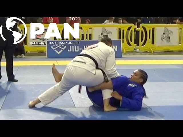 Michelle Welti v Gabrieli Pessanha / Pan Championship 2021